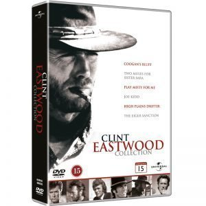 Clint Eastwood Collection DVD - 20% rabatt