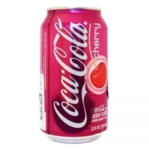 "Coca Cola ""Cherry"" 355ml - 41% rabatt"