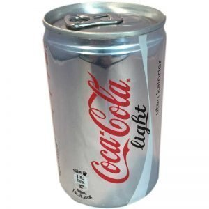 Coca-Cola Light mini-can 24-Pack - 51% rabatt
