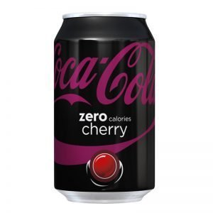 "Coca Cola ""Zero Cherry"" 330ml - 22% rabatt"