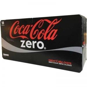 Coca-cola zero 18-pack - 37% rabatt