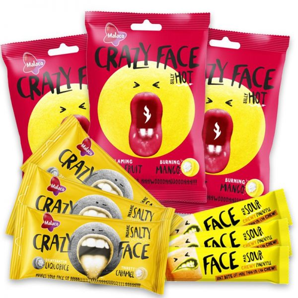 Crazy Face Smakbomb - 65% rabatt