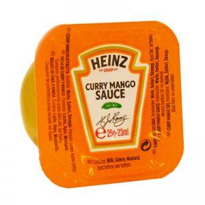 Curry- & Mangosås Portionsförpackning - 80% rabatt