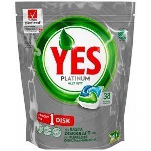 "Disktabletter ""Platinum"" 38-pack - 21% rabatt"