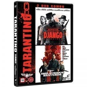 Django Unchained & Inglorious Basterds DVD - 20% rabatt
