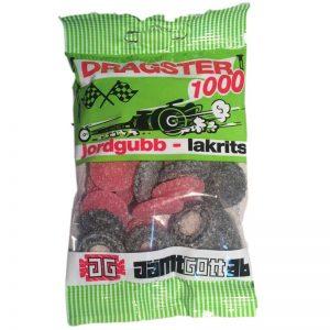 Dragster Jordgubb/lakrits - 40% rabatt