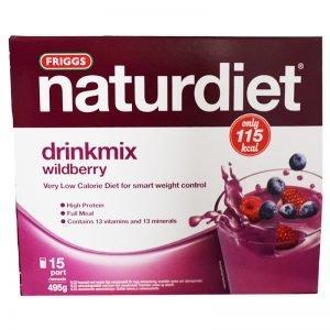 "Drinkmix ""Wildberry"" 495g - 41% rabatt"