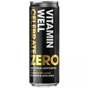 """Dryck """"Celebrate Zero"""" 355ml - 20% rabatt"""