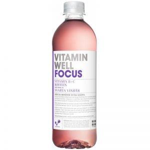 """Dryck """"Focus"""" Svarta Vinbär 500ml - 37% rabatt"""