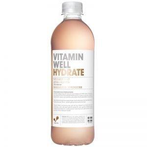 "Dryck ""Hydrate"" Rabarber & Jordgubb 500ml - 37% rabatt"