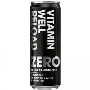"""Dryck """"Reload Zero"""" 355ml - 20% rabatt"""