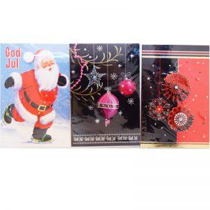 Dubbla Julkort med applikation - 78% rabatt