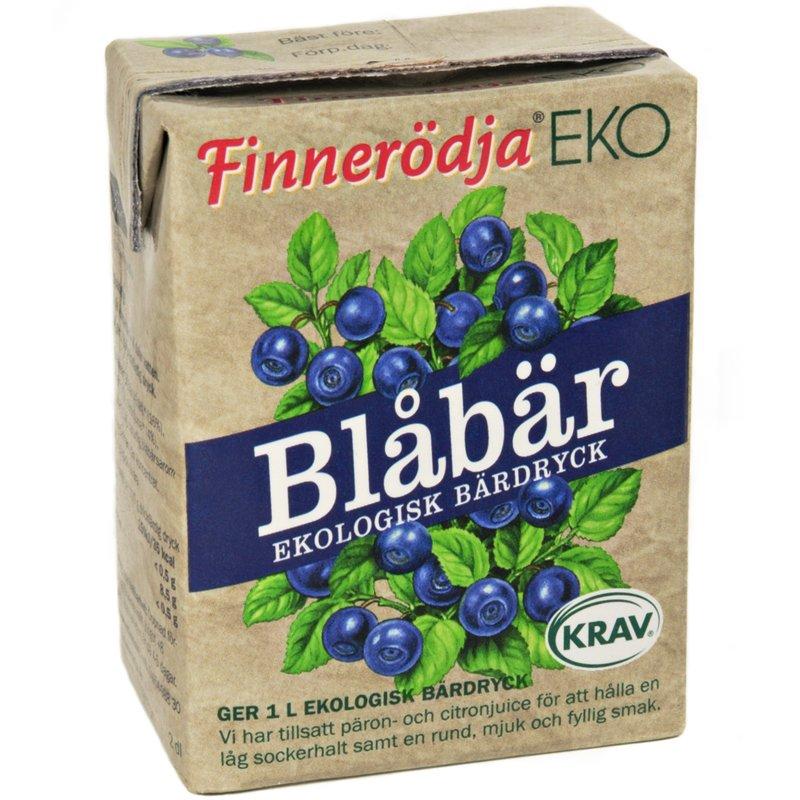 Eko Bärdryck Blåbär 2dl 23% rabatt