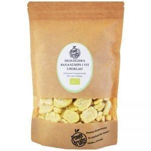 Eko Bananchips Vit Choklad 500g - 43% rabatt
