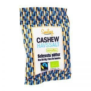 Eko Cashewnötter Havssalt 25g - 25% rabatt