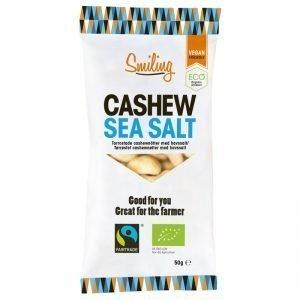 Eko Cashewnötter Havssalt 50g - 40% rabatt