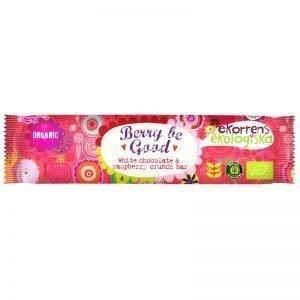 """Eko Chokladbar """"White Chocolate & Raspberry"""" 35g - 42% rabatt"""