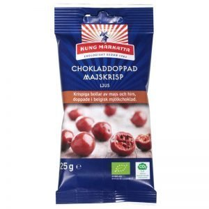 Eko Chokladdoppad Majskrisp 25g - 44% rabatt