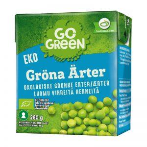 Eko Gröna Ärtor 280g - 29% rabatt
