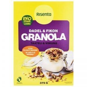 Eko Granola Dadel & Fikon 375g - 34% rabatt