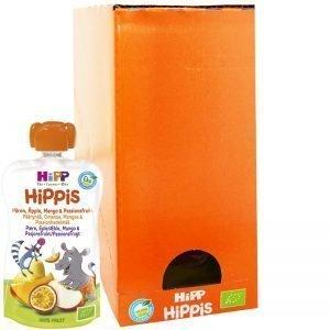 Eko Hel Låda Barnmat Päron, Äpple, Mango & Passionsfrukt 6 x 100g - 24% rabatt