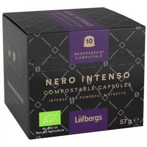 "Eko Kaffekapslar ""Nero Intenso"" 57g - 37% rabatt"