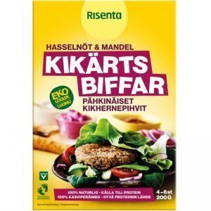 Eko Kikärtsbiffsmix Hasselnöt & Mandel 200g - 23% rabatt