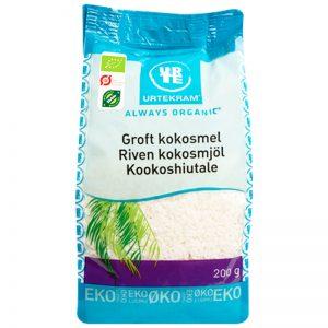 Eko Kokosmjöl Rivet 200g - 50% rabatt