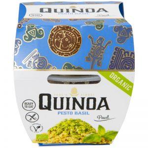 Eko Lunchpack Quinoa & Basilikapesto 210g - 38% rabatt