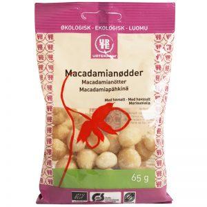 Eko Macadamianötter Havssalt 65g - 44% rabatt