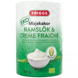 Eko Majskakor Creme Fraiche & Ramslök 105g - 47% rabatt