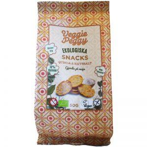 Eko Majssnacks Quinoa & Havssalt 50g - 21% rabatt