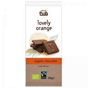 "Eko Mjölkchoklad ""Lovely Orange"" 100g - 60% rabatt"