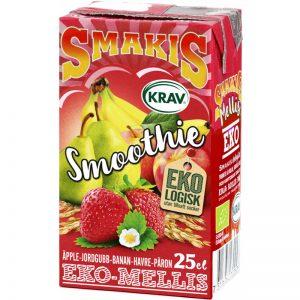 Eko Smoothie Jordgubb, Banan & Havre 25cl - 27% rabatt