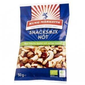 Eko Snacksmix Nötter, Äpple & Tranbär 50g - 46% rabatt