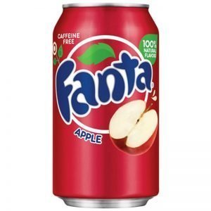 "Fanta ""Apple"" 355ml - 41% rabatt"
