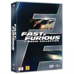 Fast & Furios 1-7 DVD - 33% rabatt