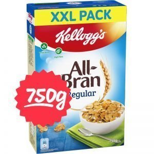 "Flingor ""All Bran XXL"" 750g - 51% rabatt"