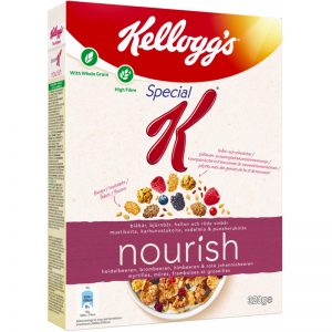 "Flingor ""Nourish Dark Berries"" 330g - 50% rabatt"