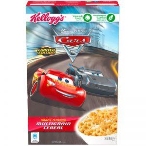 """Frukostflingor """"Cars"""" 350g - 32% rabatt"""