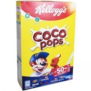 "Frukostflingor ""Coco Pops"" 375g - 48% rabatt"
