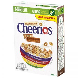 "Frukostflingor ""Multi Cheerios"" 600g - 30% rabatt"