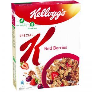 "Frukostflingor ""Red Berries"" 300g - 37% rabatt"