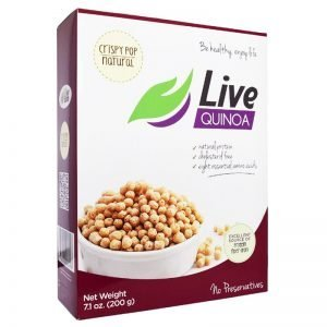 Frukostpuffar Quinoa 200g - 30% rabatt
