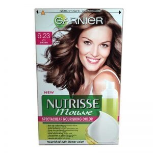 GARNIER Nutrisse Mousse 6.23 ICY Brown - 62% rabatt