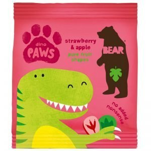 "Godis ""Dino Paws Strawberry & Apple"" 20g - 29% rabatt"