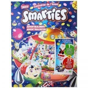 """Godis Adventskalender """"Smarties"""" 372,6g - 84% rabatt"""