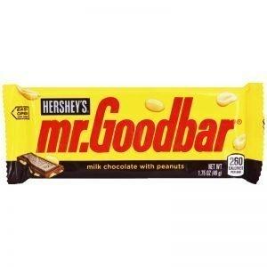 Godis Chokladkaka Jordnötter 49g - 46% rabatt