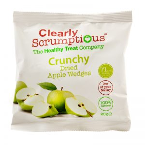"Godis ""Crunchy Dried Apple Wedges"" 20g - 80% rabatt"
