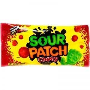 "Godis ""Sour Patch Cherry"" 56g - 76% rabatt"